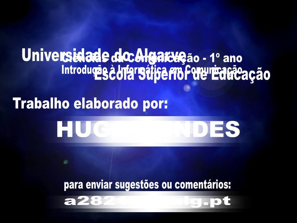 Universidade do Algarve Ciências da Comunicação - 1º ano