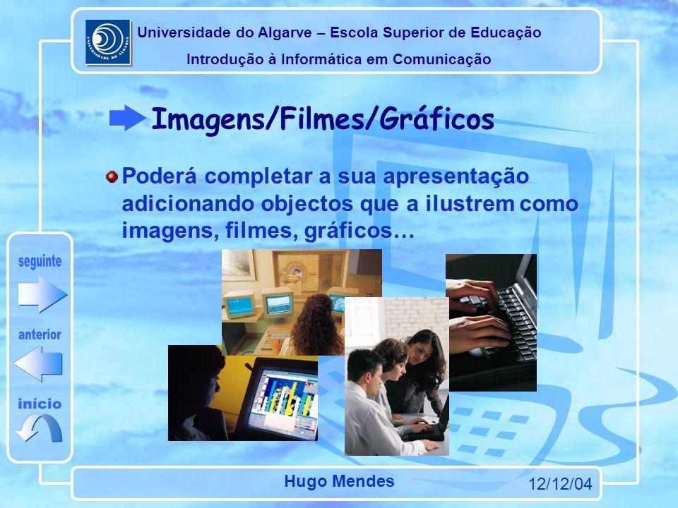 Imagens/Filmes/Gráficos
