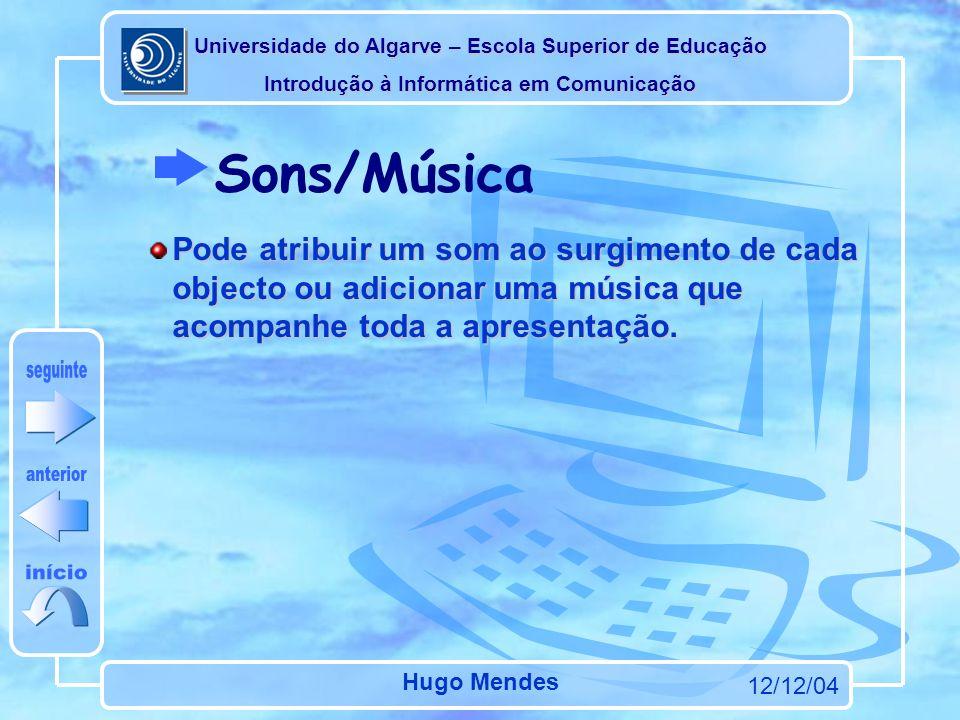 Sons/Música seguinte anterior início