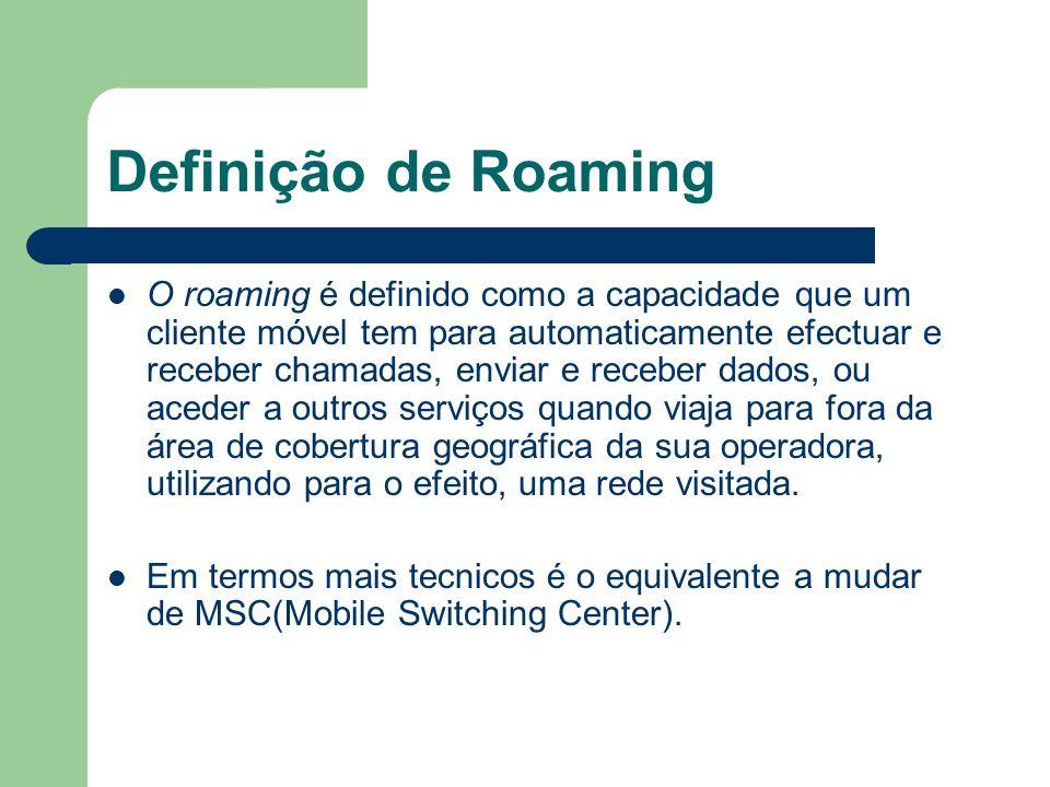 Definição de Roaming