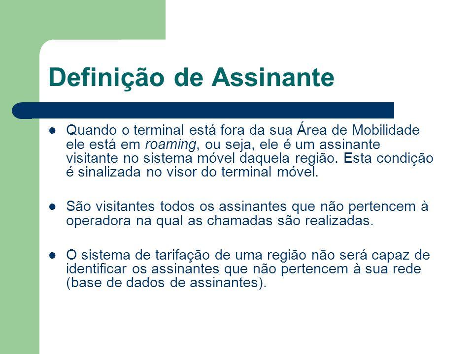 Definição de Assinante