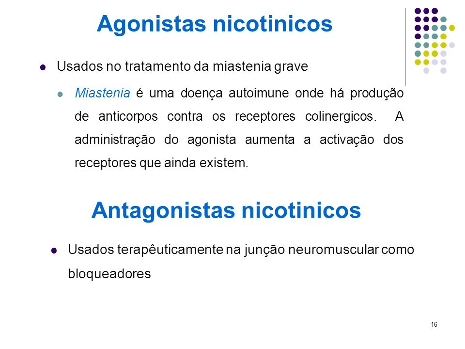 Agonistas nicotinicos