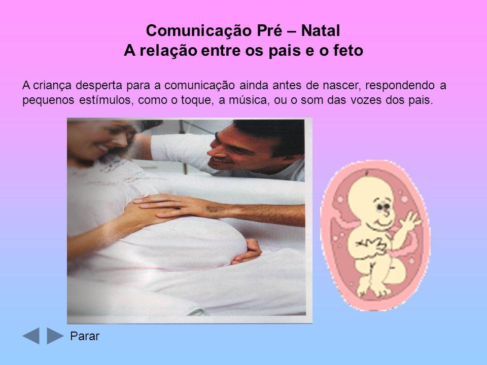 Comunicação Pré – Natal A relação entre os pais e o feto