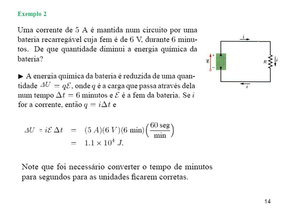 Exemplo 2 U U