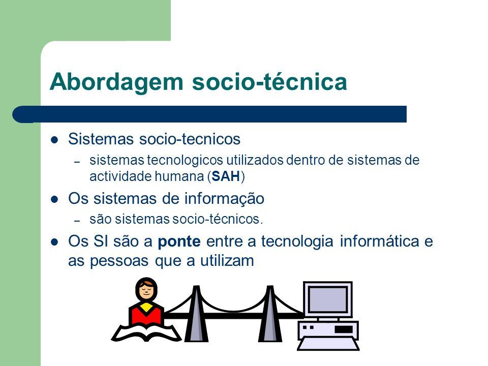 Abordagem socio-técnica