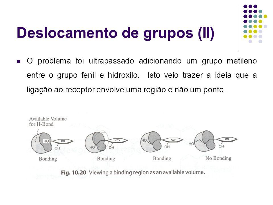 Deslocamento de grupos (II)