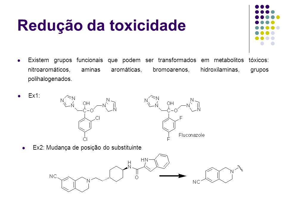 Redução da toxicidade