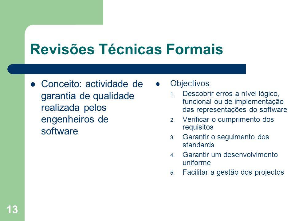 Revisões Técnicas Formais
