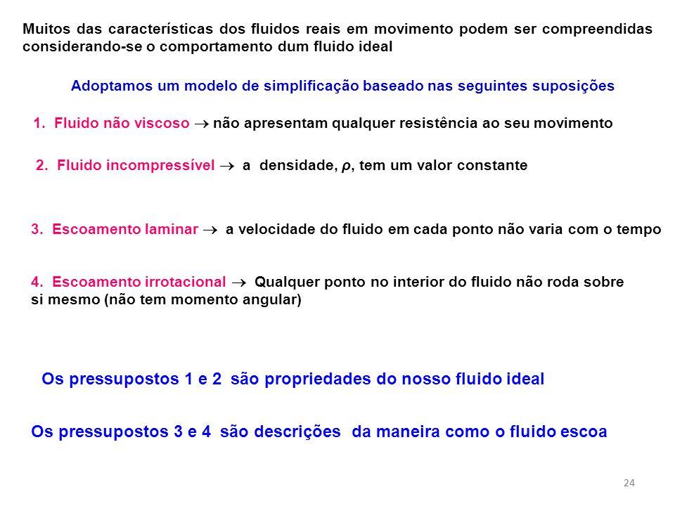 Adoptamos um modelo de simplificação baseado nas seguintes suposições