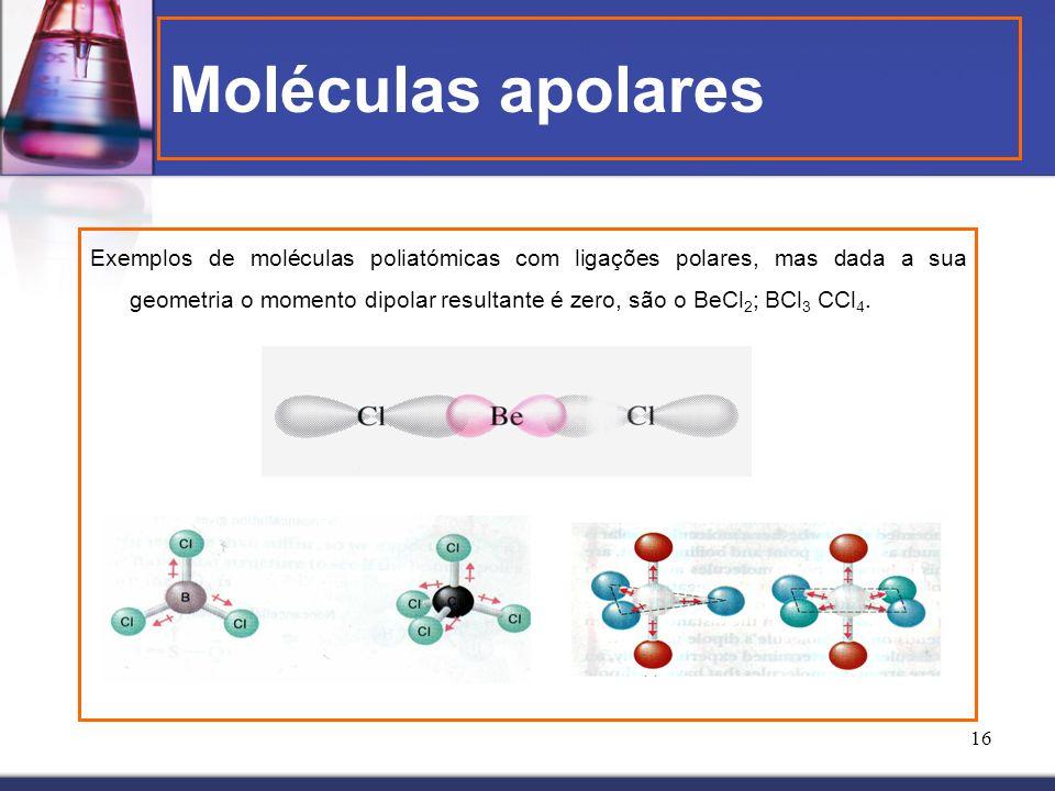 Moléculas apolares