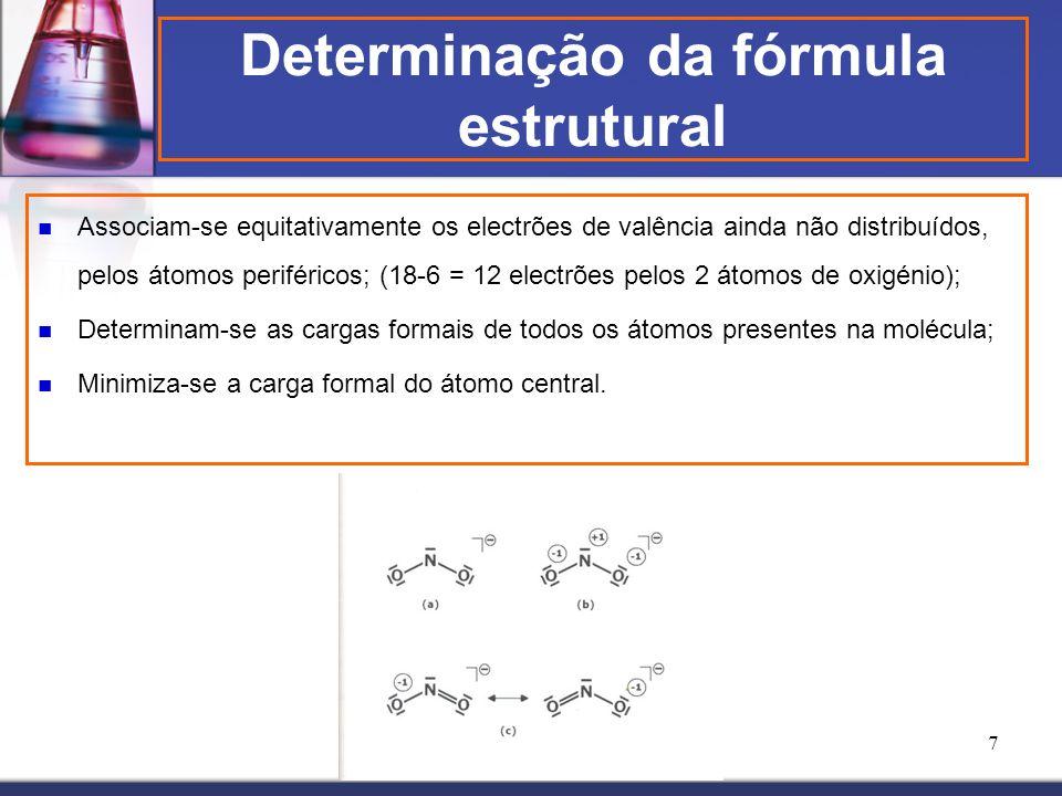 Determinação da fórmula estrutural