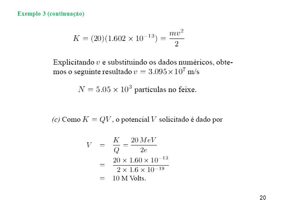 Exemplo 3 (continuação)