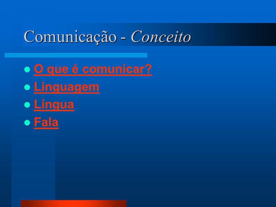 Comunicação - Conceito