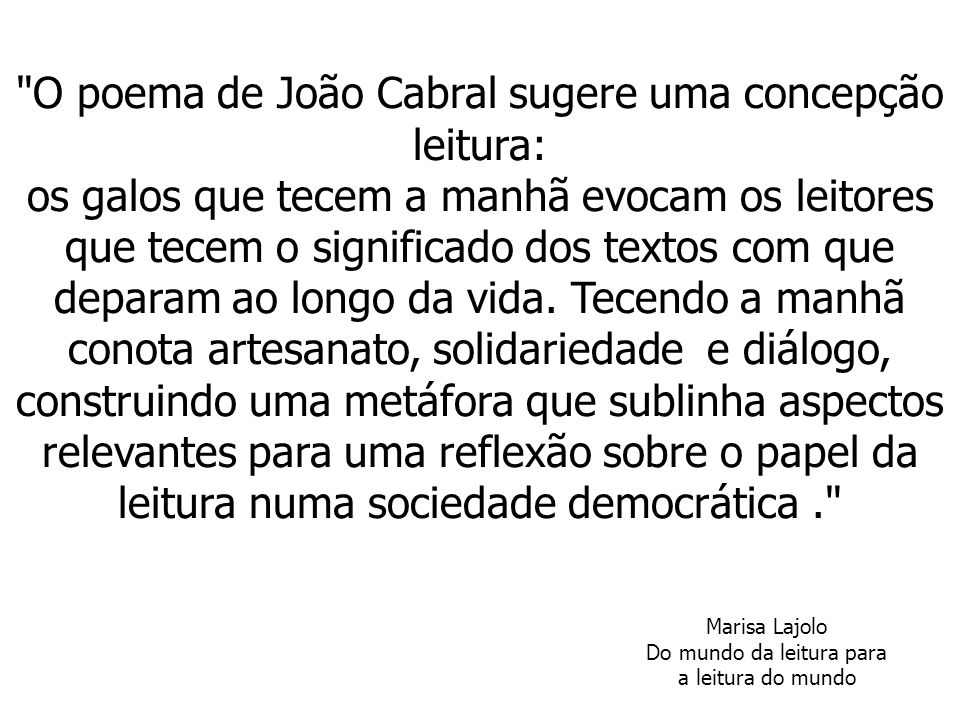 """Artesanato Garrafas De Vidro Recicladas ~ """"O poema de Jo u00e3o Cabral sugere uma concepç u00e3o leitura"""