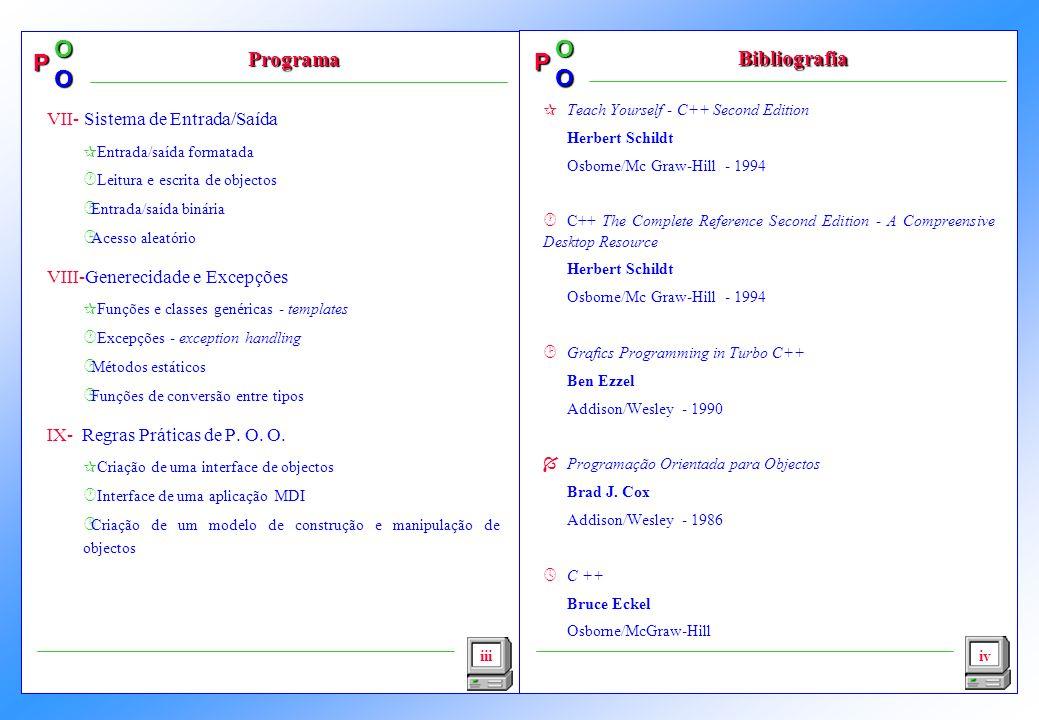 Programa Bibliografia