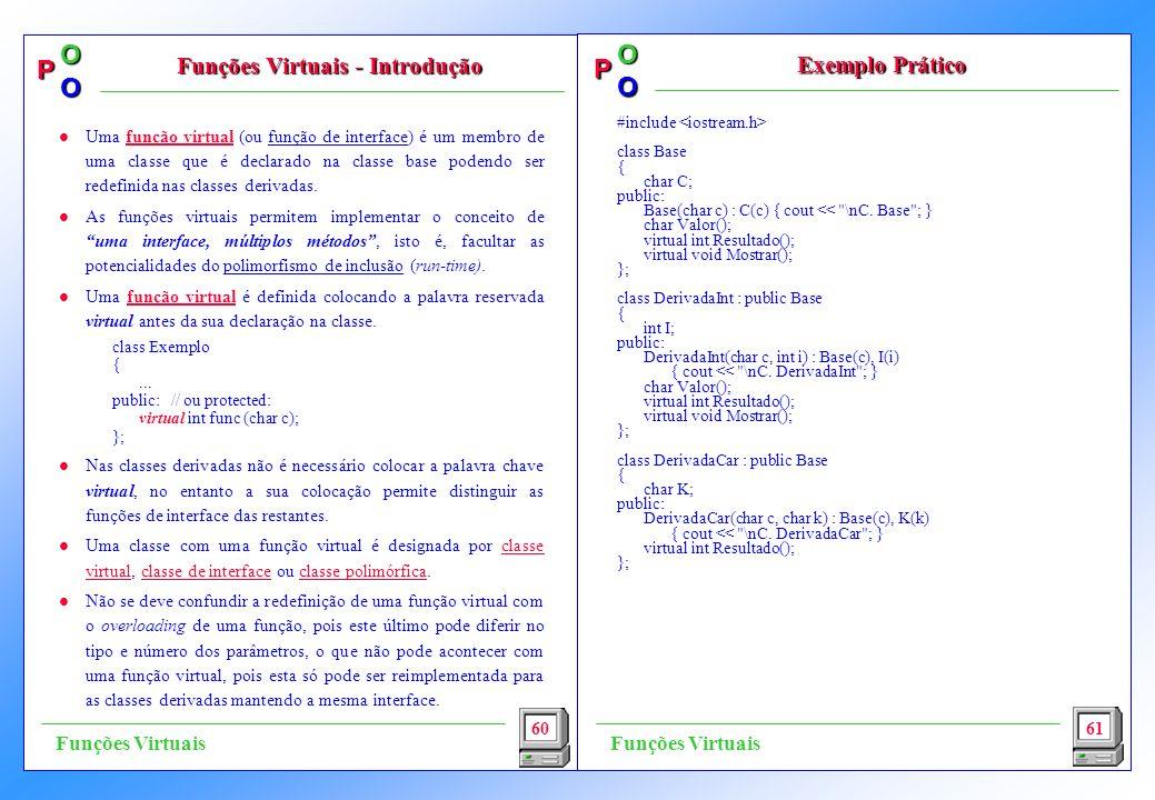 Funções Virtuais - Introdução