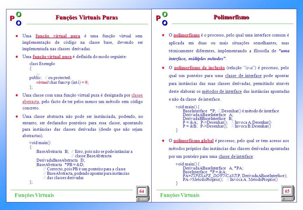 Funções Virtuais Puras