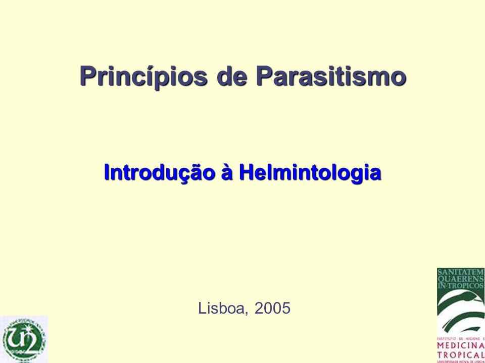 Princípios de Parasitismo