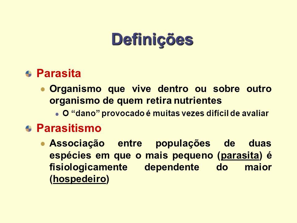 Definições Parasita Parasitismo