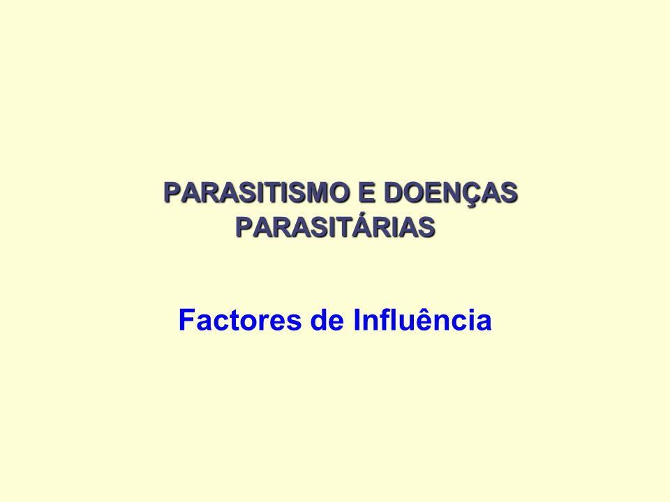 PARASITISMO E DOENÇAS PARASITÁRIAS