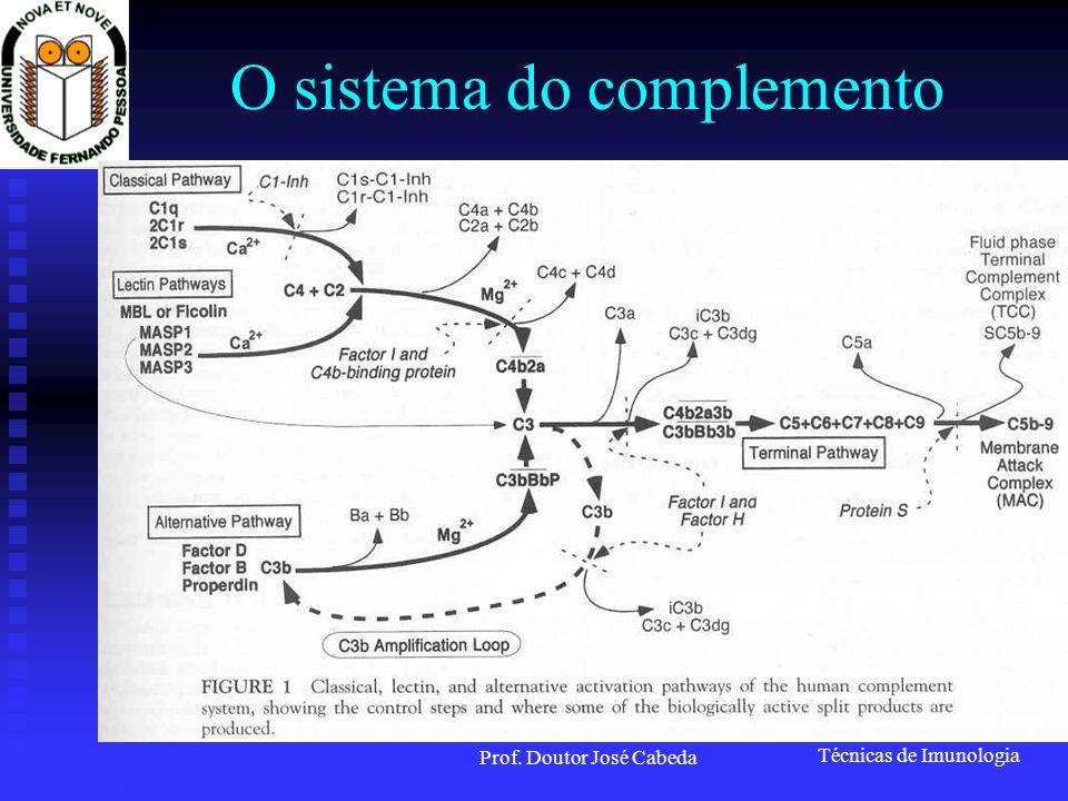 O sistema do complemento