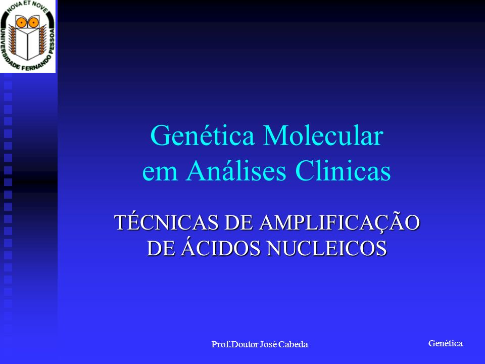 Genética Molecular em Análises Clinicas