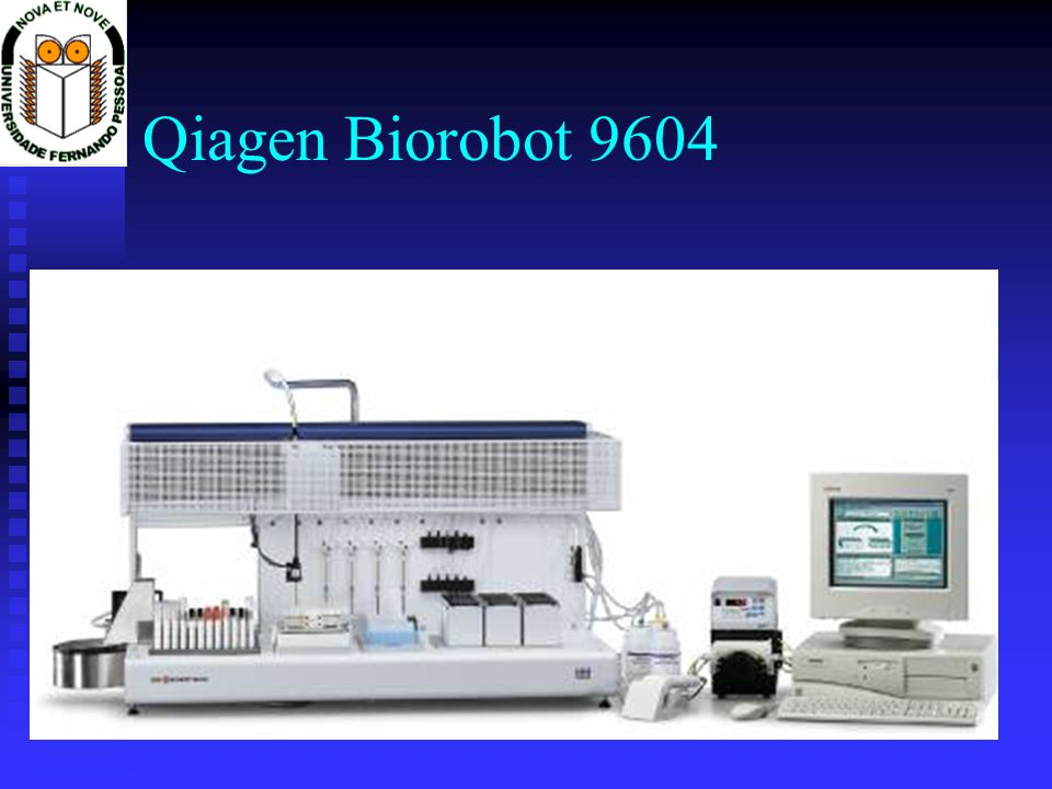 Qiagen Biorobot 9604