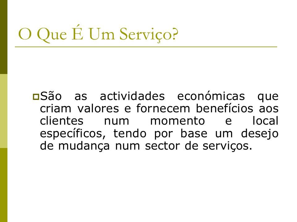 O Que É Um Serviço