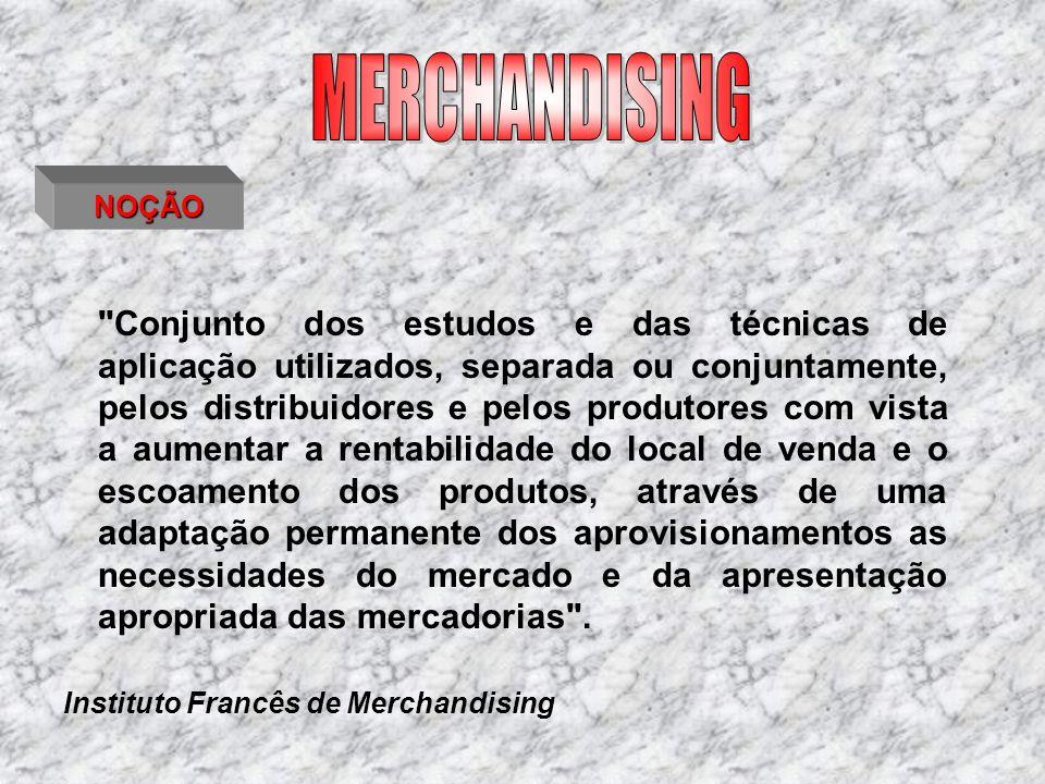 MERCHANDISING NOÇÃO.