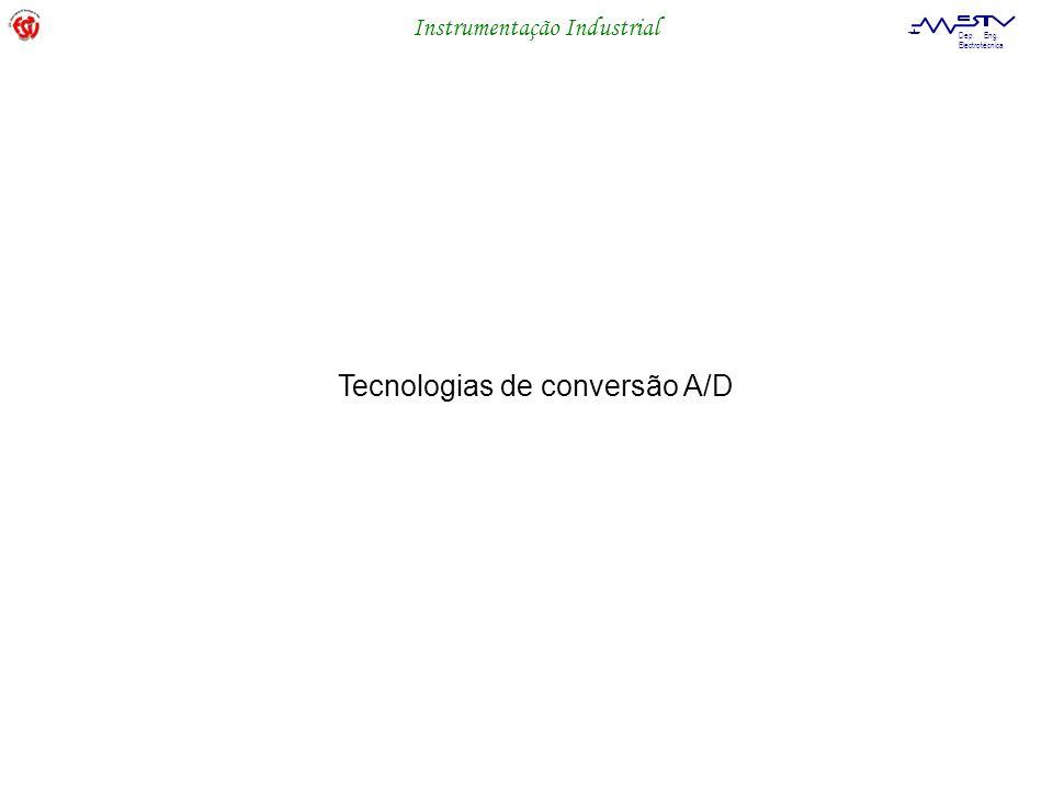 Tecnologias de conversão A/D