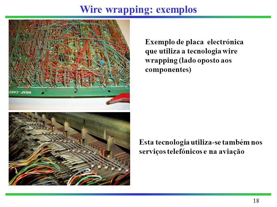 Wire wrapping: exemplos