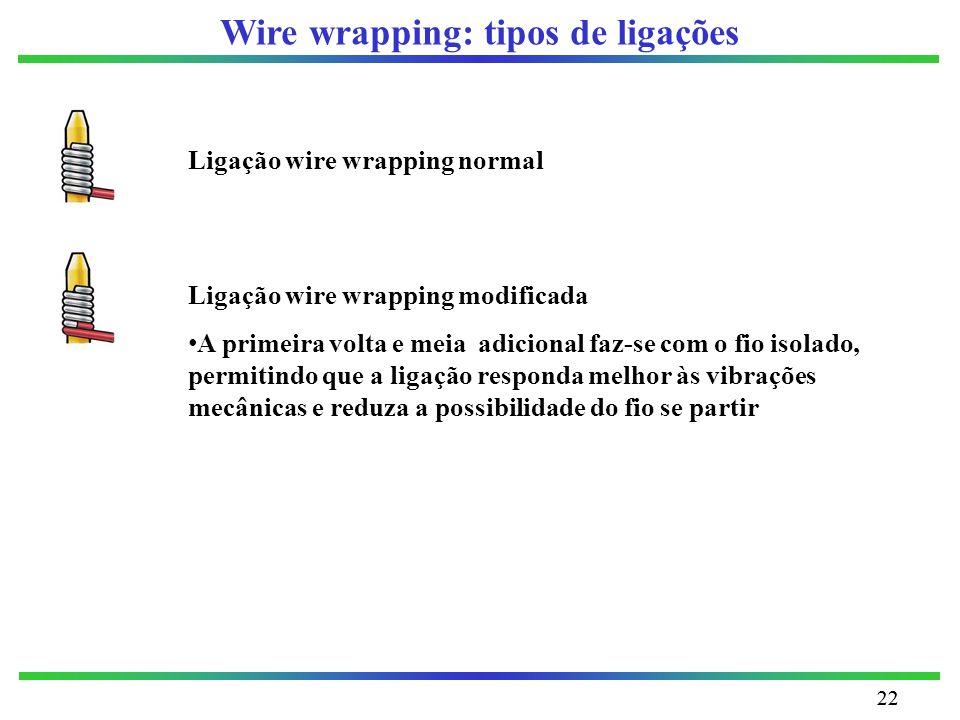 Wire wrapping: tipos de ligações