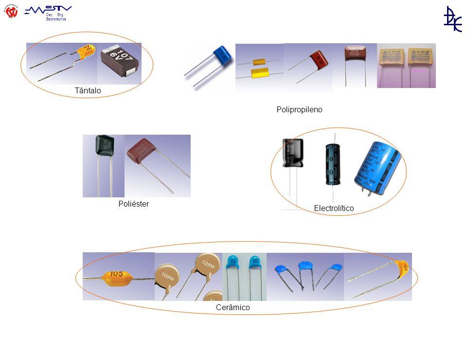 Tântalo Polipropileno Poliéster Electrolítico Cerâmico