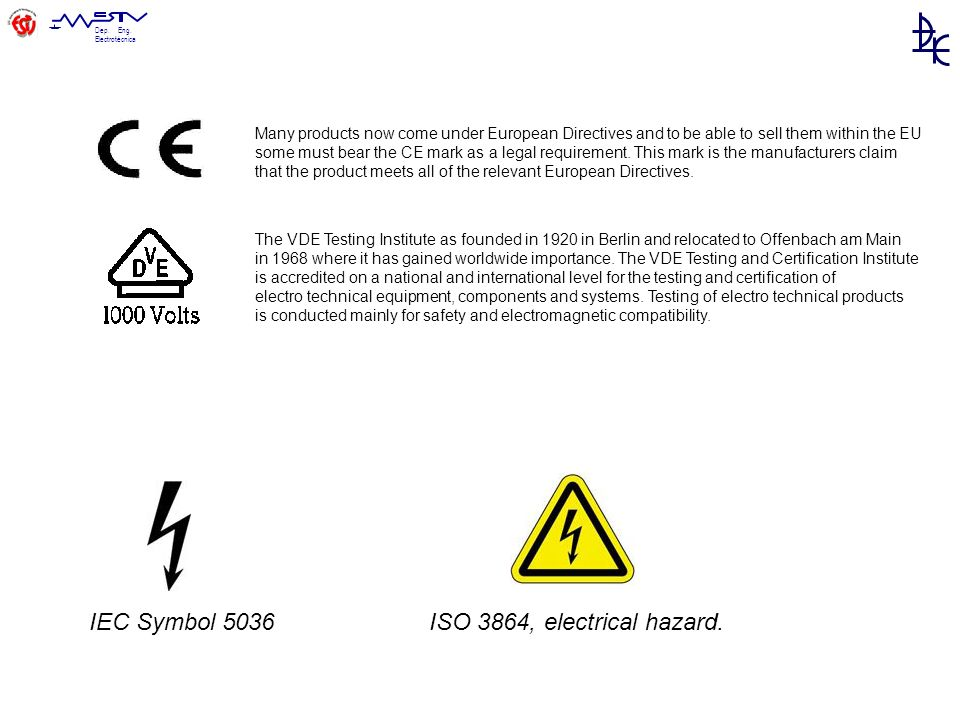 IEC Symbol 5036 ISO 3864, electrical hazard.