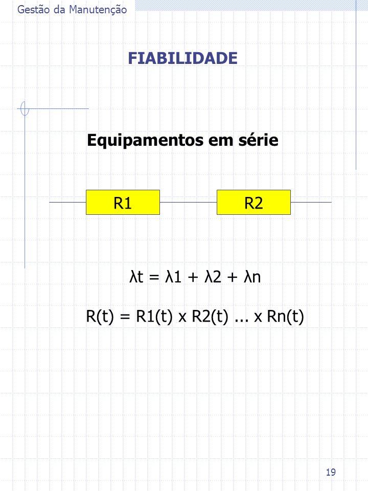 R(t) = R1(t) x R2(t) ... x Rn(t)