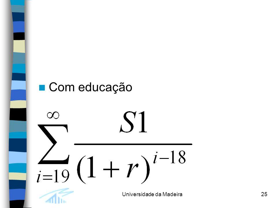 Com educação