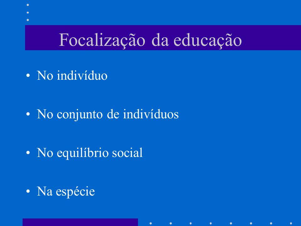 Focalização da educação