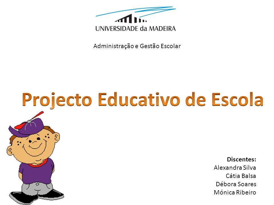 Projecto Educativo de Escola