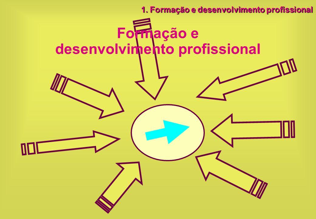 Formação e desenvolvimento profissional