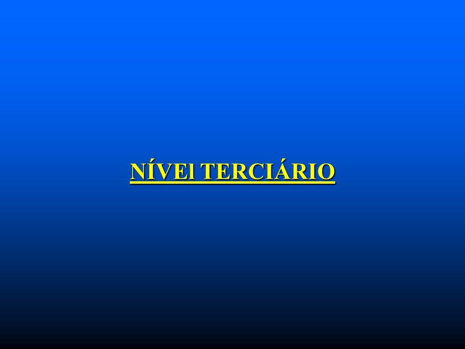 NÍVEl TERCIÁRIO