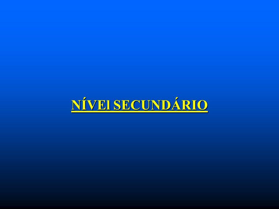 NÍVEl SECUNDÁRIO