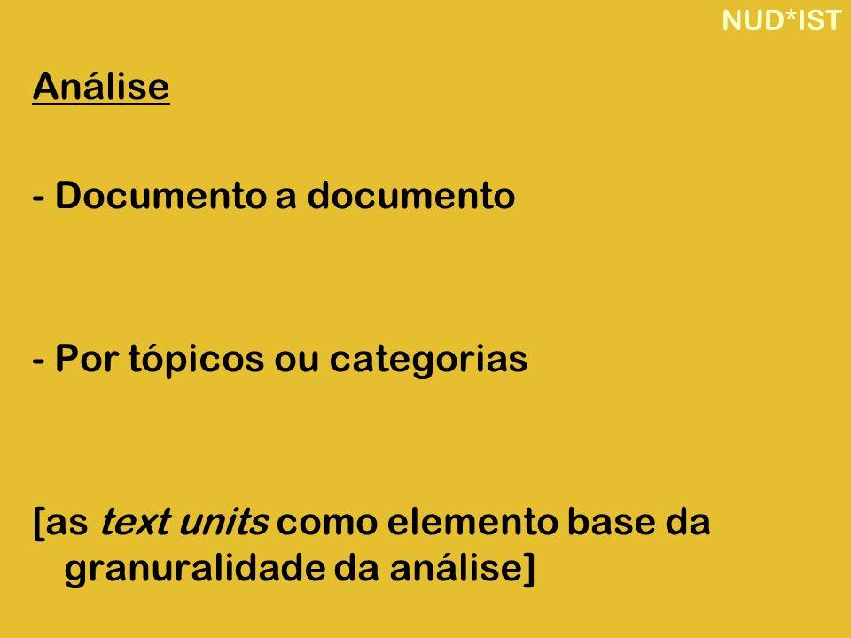 - Documento a documento