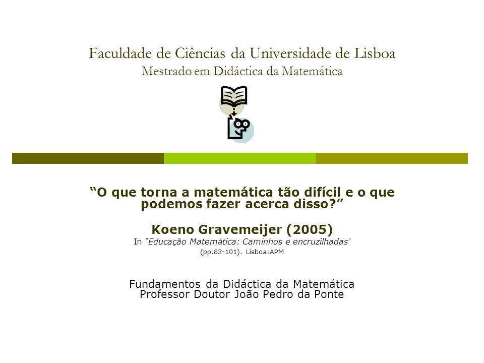 In Educação Matemática: Caminhos e encruzilhadas