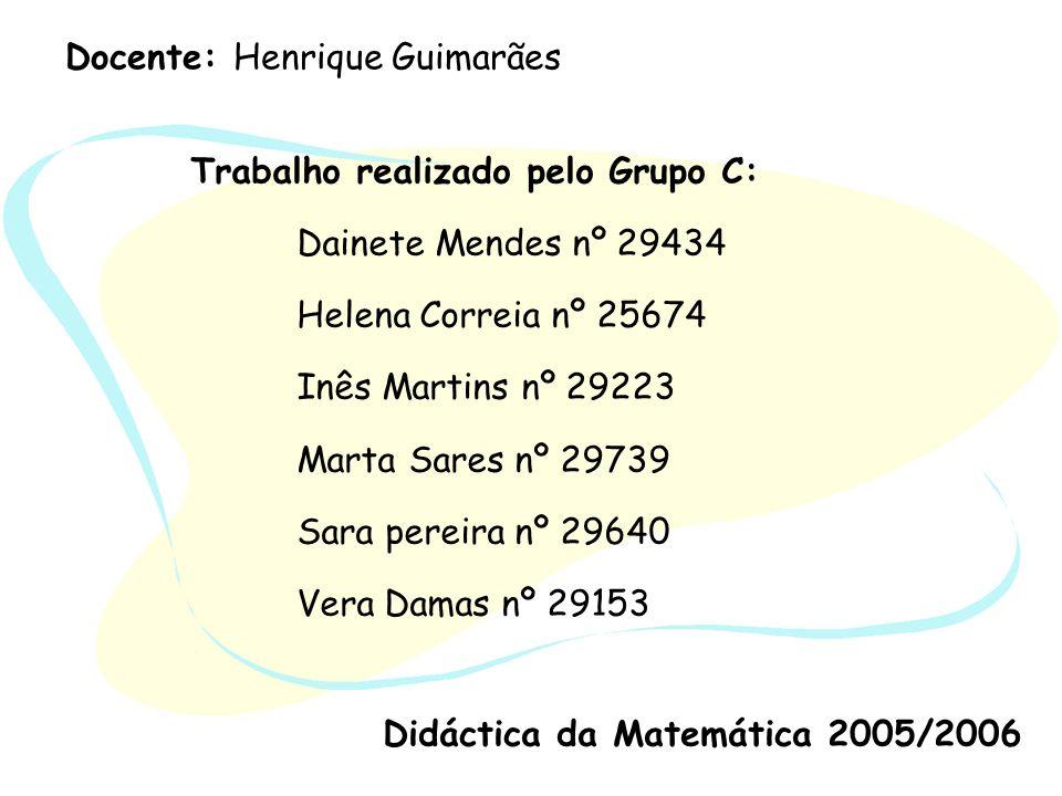 Docente: Henrique Guimarães