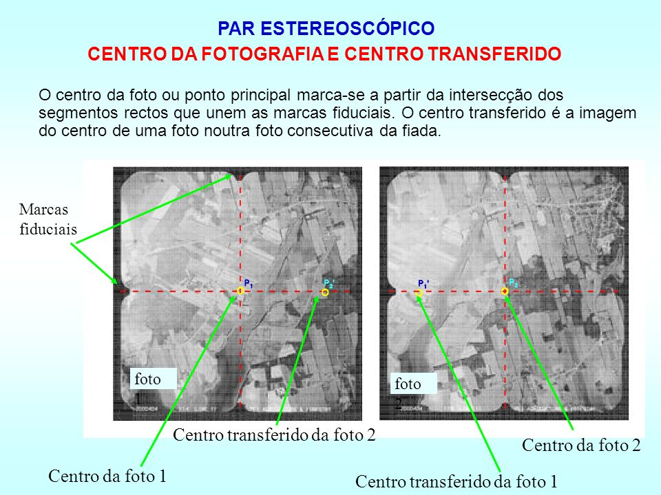CENTRO DA FOTOGRAFIA E CENTRO TRANSFERIDO