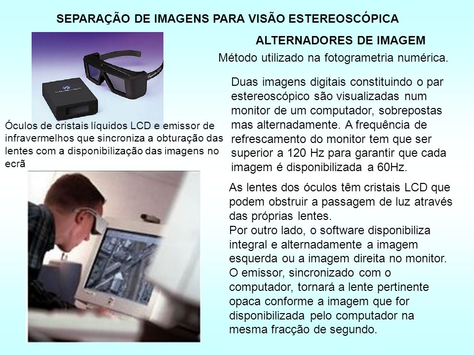 SEPARAÇÃO DE IMAGENS PARA VISÃO ESTEREOSCÓPICA