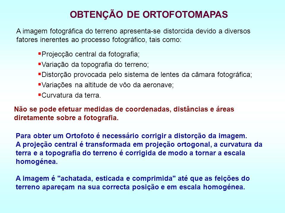 OBTENÇÃO DE ORTOFOTOMAPAS