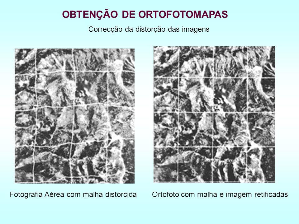 Correcção da distorção das imagens