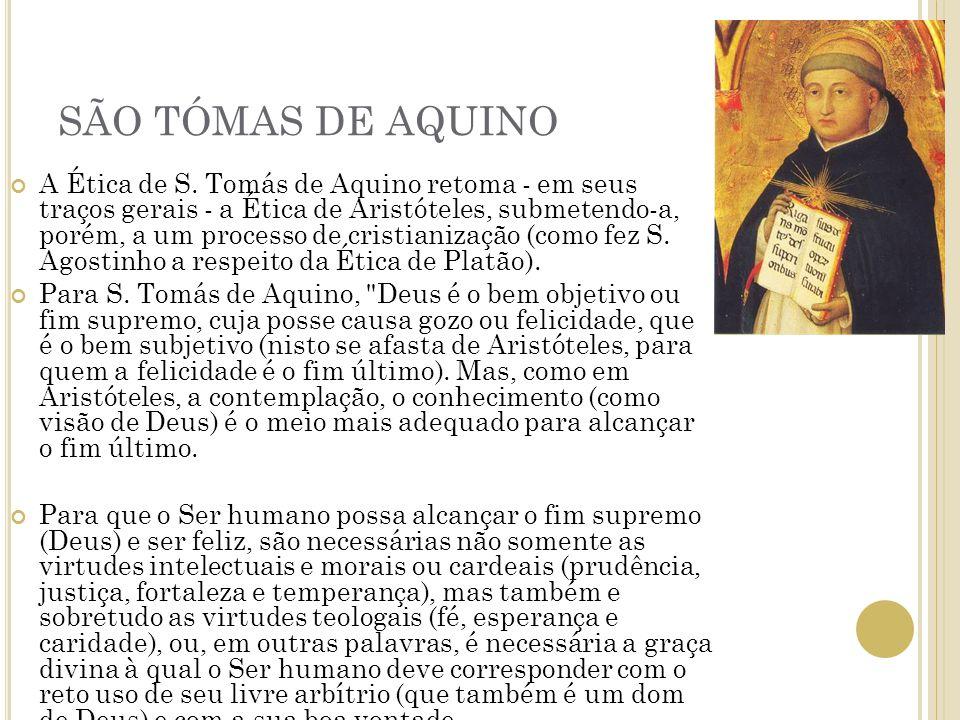 SÃO TÓMAS DE AQUINO