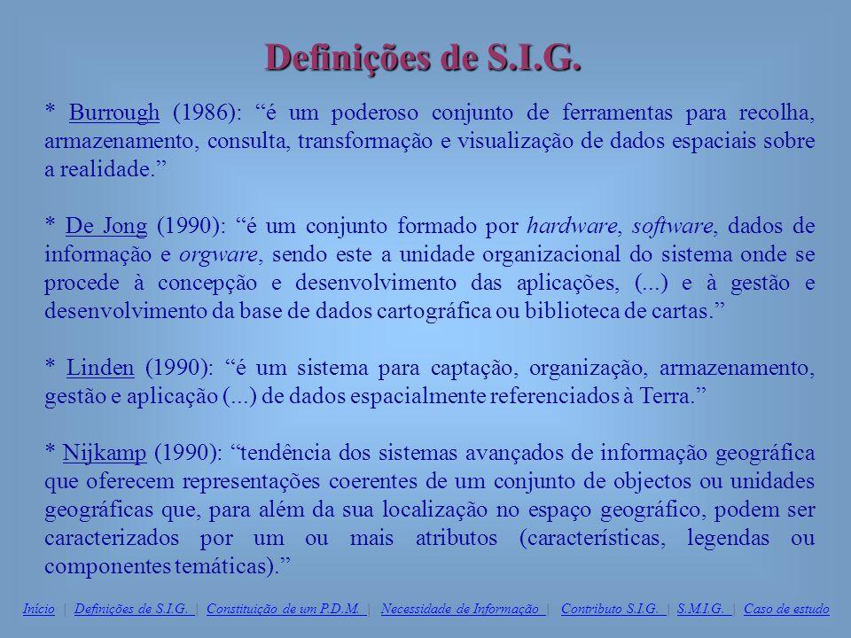 Definições de S.I.G.